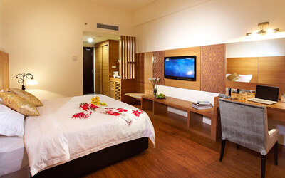 Malacca: 2D1N Stay in Deluxe Courtyard Room with Breakfast + Magic Art Museum Admission for 2 People