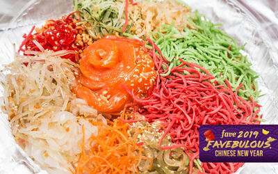 [CNY] Fresh Salmon Yee Sang for 4-6 People