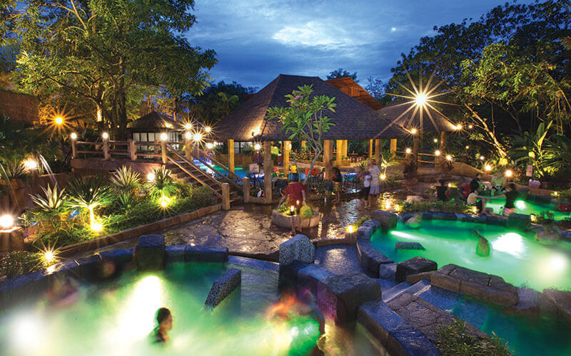 Admission to Sunway Lost World Hot Springs Night Entrance for 1 Child / Senior Citizen (Non - MyKad Holder)