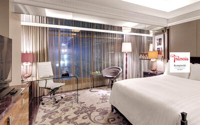 Hotel Indonesia Kempinski: 2D1N - Deluxe Room Breakfast (Weekend: Friday - Sunday)