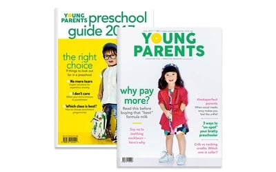 12-Month Digital Subscription to Young Parents Singapore Magazine