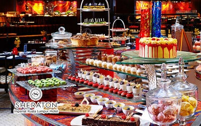 Sheraton Imperial KL: Sunday International Hi-Tea Buffet at Essence for 1 Person