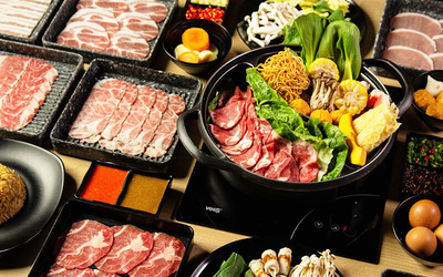 (Mon - Fri) Japanese Buffet Lunch for 2 People
