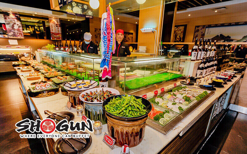 Shogun Sunway Pyramid: (Mon - Sun) Japanese Buffet for 1 Person