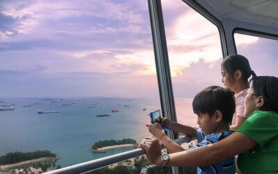 1-Day Unlimited Admission to Sentosa 4D AdventureLand + Tiger Sky Tower for 1 Person