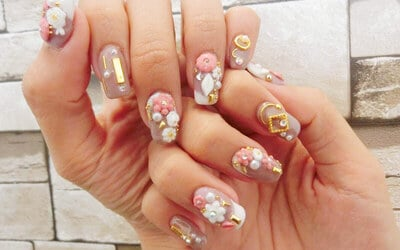 Gel Manicure and Pedicure with Two (2) Nail Art for 1 Person