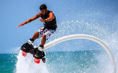 15-Minute Fly Boarding at Tanjung Benoa for 1 Person