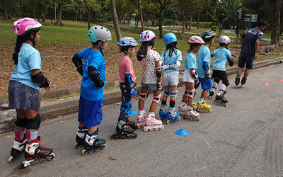 (Sat - Mon) Inline Skating Lessons for 1 Person (Up to Max. 5 Classes)