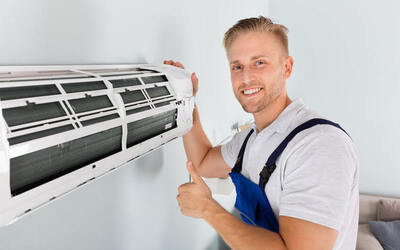 Air Conditioner Chemical Servicing for 3 Units