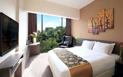 Bay Hotel Singapore: 2D1N at Deluxe Queen Room (Room Only)