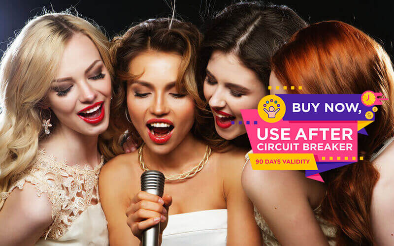 (Happy Hour) 3-Hour KTV Session for up to 6 People