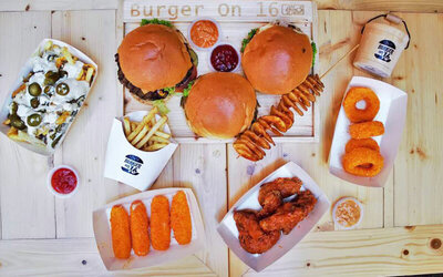 RM20 Cash Voucher for Burgers, Wings, and Snacks