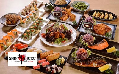 (Sun) A La Carte Japanese Sushi Buffet Lunch for 1 Person