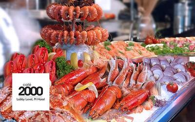 (Sat - Sun) Seafood Lunch Buffet for 1 Adult