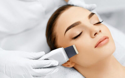 1x Ultrasonic Facial Revitalize for Anti Aging (Gold)