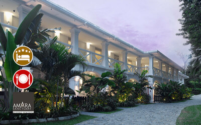 Amara Sanctuary Resort: (Fri - Sat) 2D1N Staycation in Deluxe Room + 3-Course Dinner for 2 People