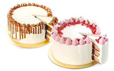 One (1) Whole 8-Inch Creme Maison Gourmet Cake