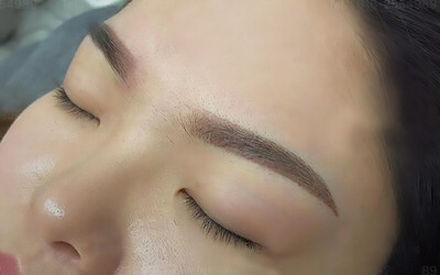 Korean Powder Mist Eyebrow Embroidery for 1 Person