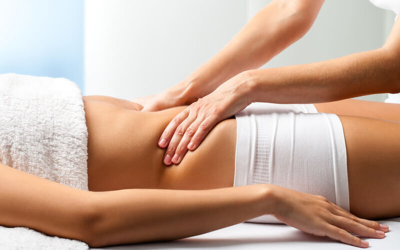 1-Hour Ovary / Bust Lymphatic Treatment with Massage, Serum, and Warm Mask for 1 Person