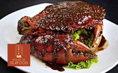 House of Seafood 螃蟹之家: $100 Cash Voucher for A La Carte Food and Drinks
