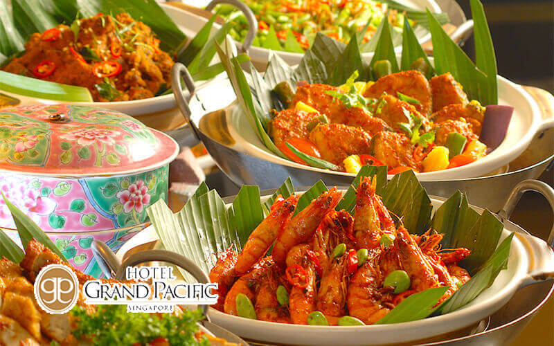 (Sat - Sun) A la Carte Peranakan Lunch Buffet for 1 Person