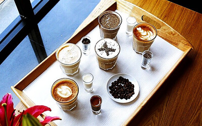 Buy 1 All Item Flavored Latte Free Lychee Tea
