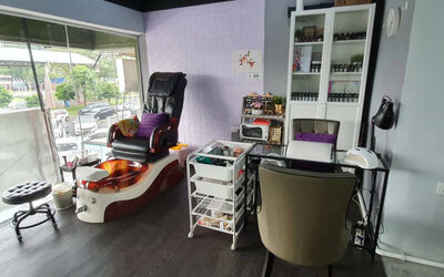 Spa Gel Manicure and Pedicure with Two (2) Nail Art for 1 Person