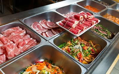 Weekend Korean BBQ Buffet for 1 Person