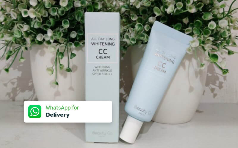 1 CC Cream All Day Long Whitening - Delivery