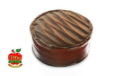 "One (1) 8"" Whole Chocolate Cake"