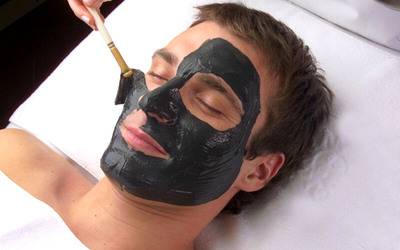 Facial Black Mask + Accupressure + Totok Wajah + Head + Back Massage