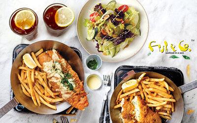 [#GFCulinary] Paket Makan Fish & Chips untuk 2 Orang