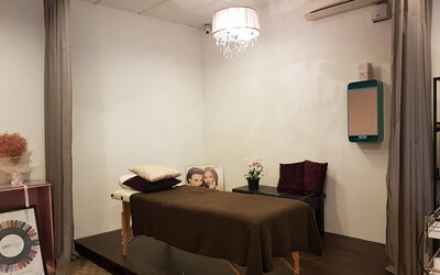 2-Hour Premium Ultrasonic Anti-Ageing / Anti-Acne / Brightening Facial Treatment with Free Express Mani / Pedi for 1 Person