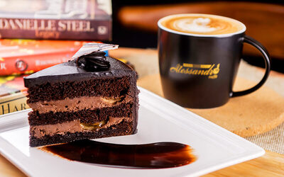 Buy 2 Coffees, Get 1 Slice of Cake Free