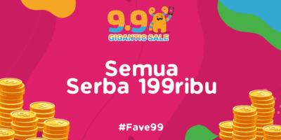 #FAVE99 Semua Serba 199 Ribu [2019]
