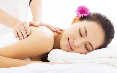1.5-Hour Full Body Meridian Massage with Ear Candling For 1 Person