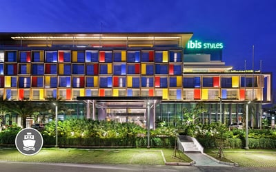 (Without Perks) Batam: 2D1N Stay in Ibis Styles Batam Nagoya and Return Ferry Transfer for 1 Person