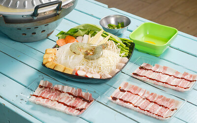 BBQ Steamboat Set Meal for 2 People (Set A)