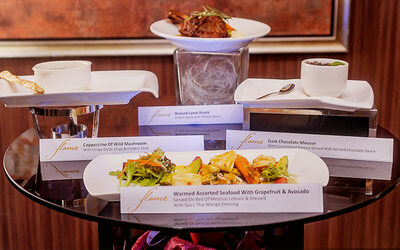 Flame Fine Dining Set Menu C for 1 Person