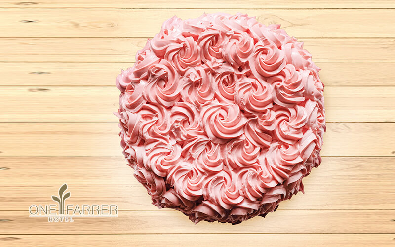 One Farrer Hotel: [Mother's Day] Lychee Rose Cake
