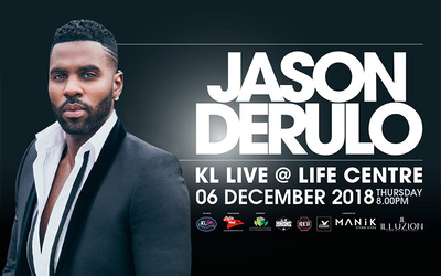 Admission to Jason Derulo Live in KL 2018 for 1 Person (Silver)