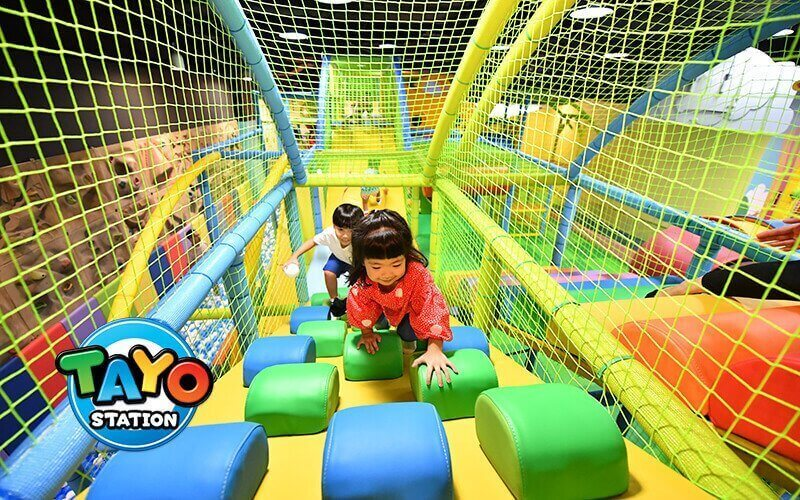 (Sat - Sun) 2-Hour Admission to Tayo Station Indoor Playground for 1 Child (Aged 2 - 12) + 1 Adult