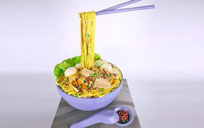 20cm Noodle Bowl Cake