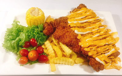 [12.12] Maryland Chicken Chop for 1 Person