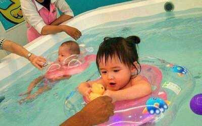 (Mon - Fri) 50-Minute Baby Spa (Swim and Massage) for 1 Child (1 Session)