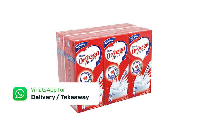 Six (6) 200ml Nestle Omega Plus Milk with Delivery Option