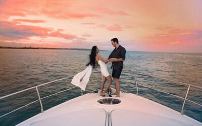 3-Hour Sunset Cruise for 2 Adults and 2 Children