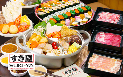 Suki-Ya (IOI City Mall): Shabu Shabu Lunch Buffet for 1 Person
