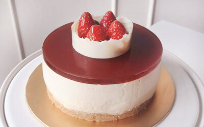 1kg Whole Earl Grey Cheesecake