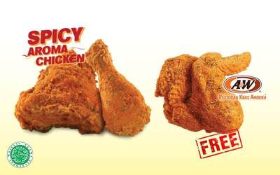 Buy 2 Get 1 Free for Spicy Aroma Chicken
